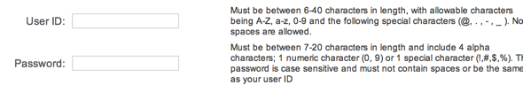 CA DMV passwords