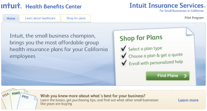 Launched: Intuit Health Benefits Shopping