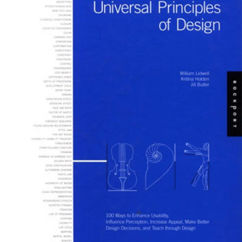 Universal Principles of Design book